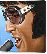 Elvis 24 1970 Canvas Print