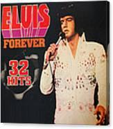 Elvis Album Canvas Print