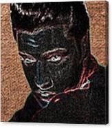 Elvis Art Canvas Print