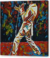 Elvis If I Can Dream Canvas Print