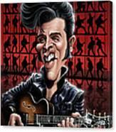 Elvis In Memphis Canvas Print