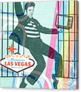 Elvis Jailhouse Rock Canvas Print