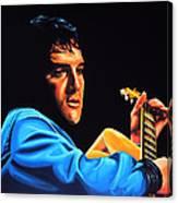 Elvis Presley 2 Painting Canvas Print