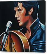 Elvis Presley 3 Painting Canvas Print