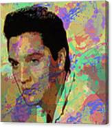 Elvis Presley - 5 Canvas Print