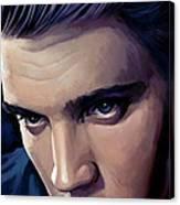 Elvis Presley Artwork 2 Canvas Print