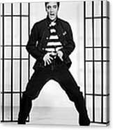 Elvis Presley In Jailhouse Rock 1957 Canvas Print