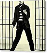 Elvis Presley Jailhouse Rock Canvas Print