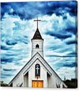 Elvis Presley Memorial Chapel 2 Canvas Print