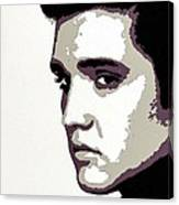 Elvis Presley Portrait Art Canvas Print