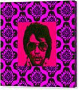 Elvis Presley Window M88 Canvas Print