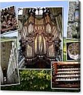Ely Montage Canvas Print
