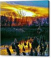 Emagin Sunset Canvas Print