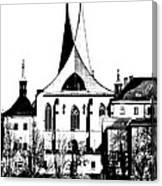 Emauzy - Benedictine Monastery Canvas Print
