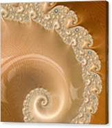 Embellished Blond Wood Canvas Print