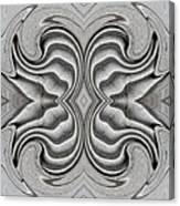 Embellishment In Concrete 3 Canvas Print