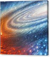 Embers Of Exploration And Enlightenment Canvas Print