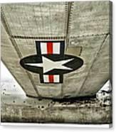 Emblem Underneath Canvas Print