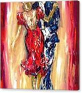 Embrace Of The Dance Canvas Print