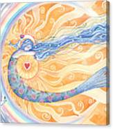 Embracing Love Canvas Print
