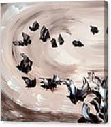 Embruns Canvas Print