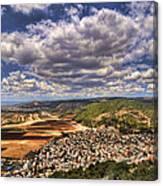 Emek Israel Canvas Print