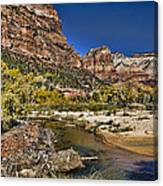 Emeral Pools Trail - Zion Canvas Print