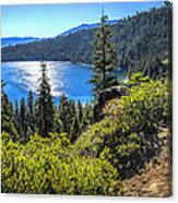 Emerald Bay Lake Tahoe California Canvas Print