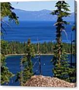 Emerald Bay -lake Tahoe Canvas Print