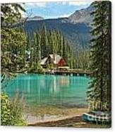 Emerald Lake Lodge Canvas Print