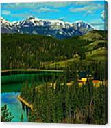 Emerald Lake - Yukon Canvas Print