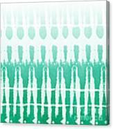 Emerald Ombre  Canvas Print