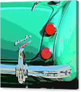 Emerald Palm Springs Canvas Print