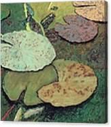Emerald Pond Canvas Print