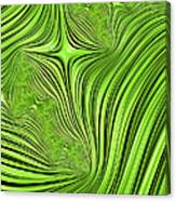 Emerald Scream Canvas Print
