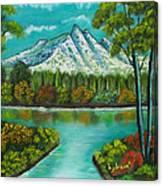 Emerald Valley Canvas Print