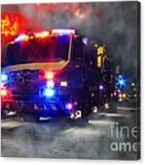 Emergency Canvas Print