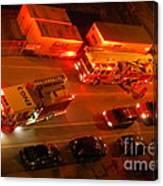 Emergency Response Canvas Print