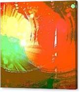 Emergent Sun Canvas Print