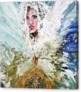 Emerging Angel Of Light Canvas Print