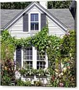 Emily Post House And Garden Canvas Print