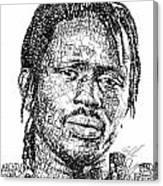 Emmanuel Jal Canvas Print