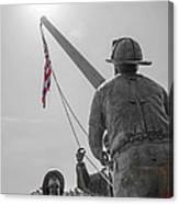 Emmitsburg 9 - 11 Memorial Canvas Print