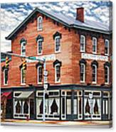 Emmitt House Corner Canvas Print