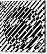 Emoticon So Very Funny Maze  Canvas Print