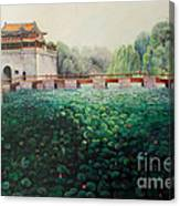 Emperor's Summer Palace Canvas Print