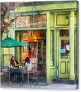 Hoboken Nj - Empire Coffee And Tea Canvas Print