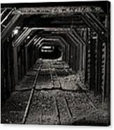 Empire Mine Shaft Canvas Print