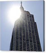 Empire State At Hign Noon Canvas Print