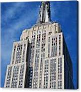 Empire State Building - Nyc Canvas Print